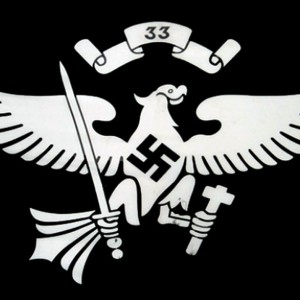 Germany Hitler youth 33rd troop flag