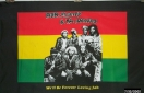Bob Marley and the wailers flag