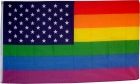 Rainbow Glory USA Gay Pride flag