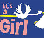 Its a girl flag