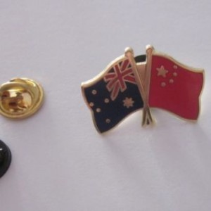 Australia China friendshipBadge