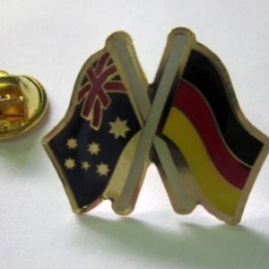 Australia Germany friendship badge