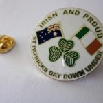 Irish and proud badge
