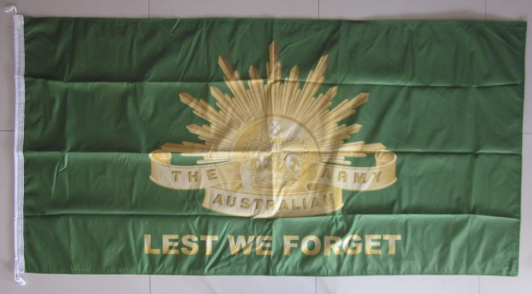 Australian Army Double Sided flag