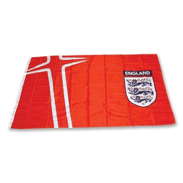 England 3 lions national team flag
