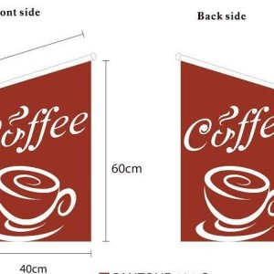 Coffee Wall Flag
