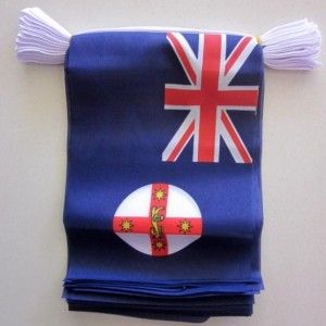 New South Wales flag bunting