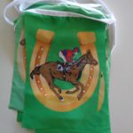 Horse racing flag bunting