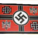 Germany war ministry flag