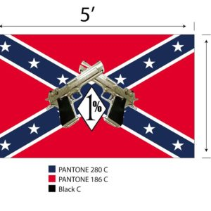 Rebel 1% er Flag