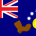 The Boot Australian flag