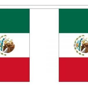 Mexico flag bunting