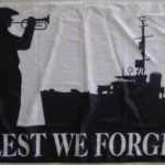 Australian Lest we Forget Naval Flag