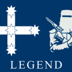 Ned Kelly Eureka Flag