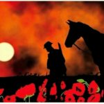 War Horse lest we forget poppy flag