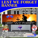 Lest we forget Banner