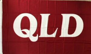 QLD Maroons Flag