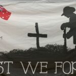 Lest we Forget Flag