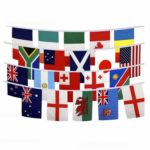 Rugby world cup flag bunting 2019