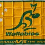 Wallabies Rugby Flag